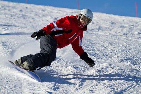 Snowboard ou esqui em Riga