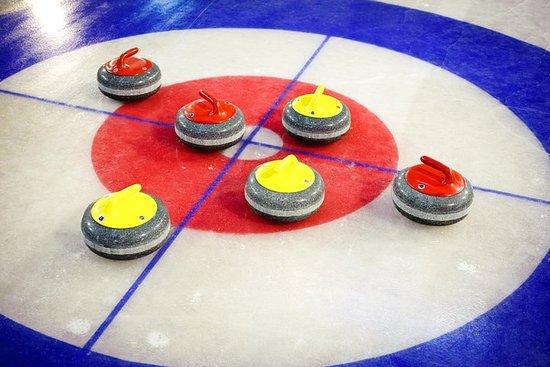 Experiência de curling em Riga