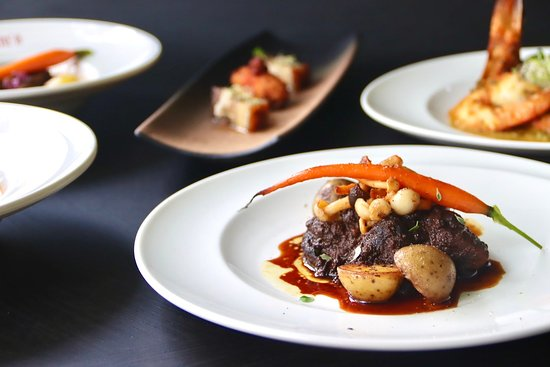 Pot Roast Beef, an all-time favourite dish on special occasions, wagyu beef served with new potatoes, hon shimeji mushrooms & baby carrots!