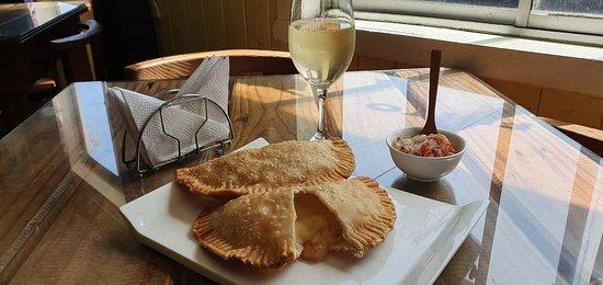 Pucatrihue, Чили: Aperitivo camarón queso
