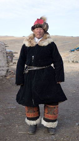 The normal traditional clothing.
