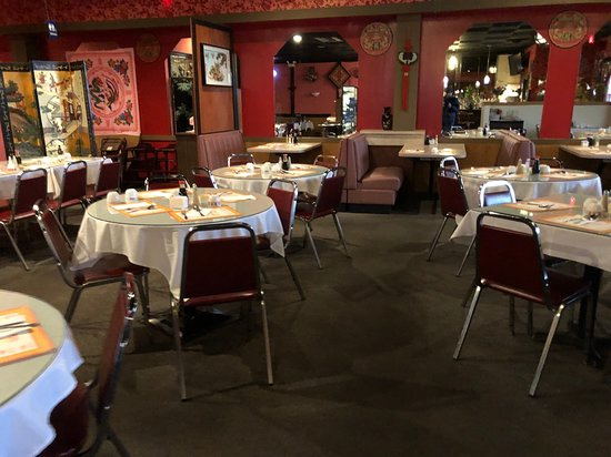Dragon House Chinese Restaurant - main dining room