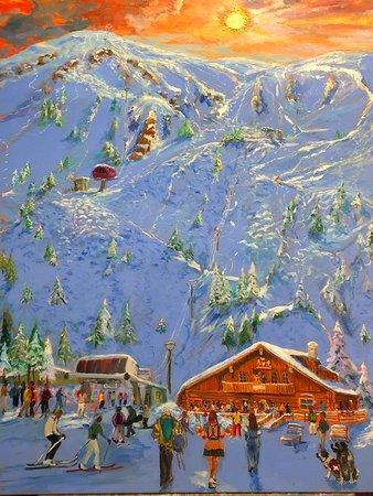 """Kachina Basin Bavarian Lodge  Oil  46x40"""""""