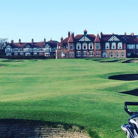 18th hole, Royal Lytham & St Annes.