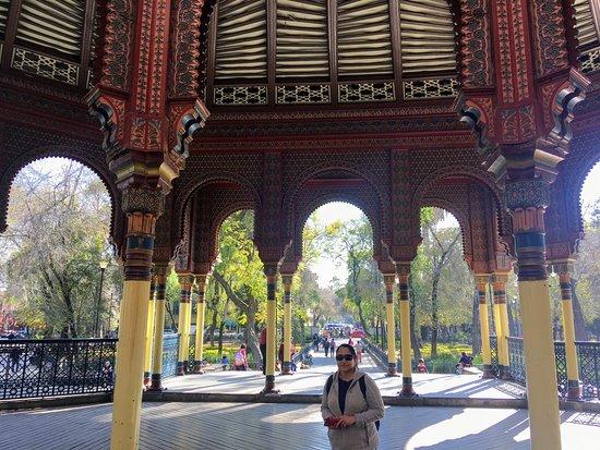 Kiosco Morisco, Mexico City