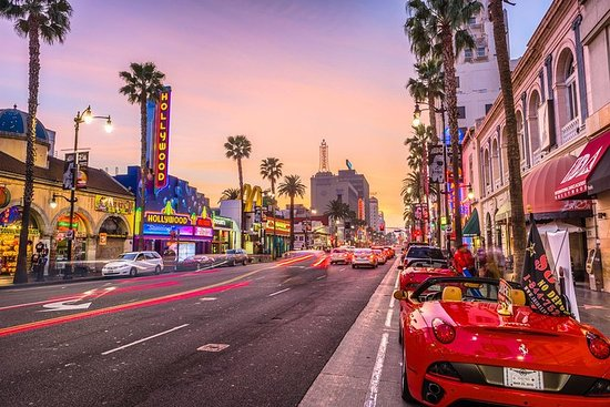 Los Angeles und Hollywood ...