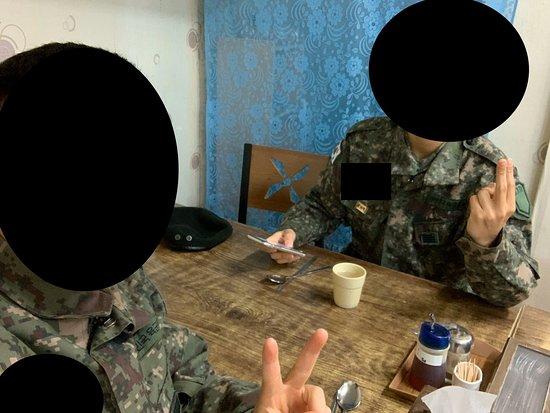 Hwacheon-gun, Zuid-Korea: 군대 동기랑 같이