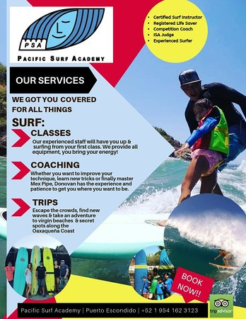 Pacific Surf Academy: Professional surf classes