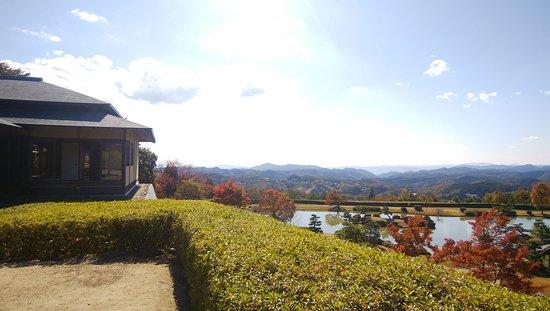 天空の茶室と庭園