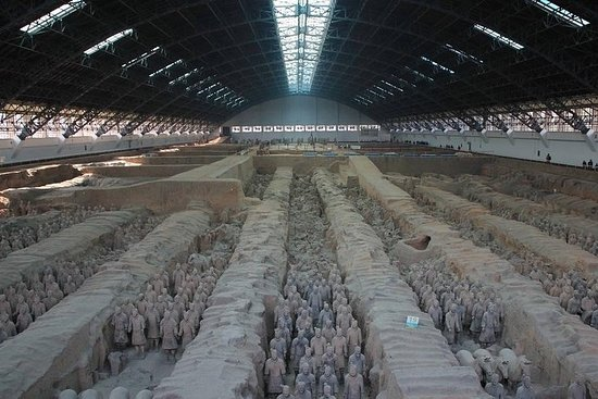 Tour du groupe de Xi'an: les...