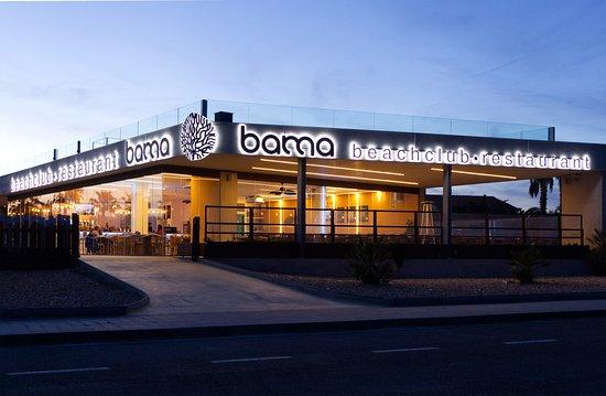 Bama Beach Club al atardecert