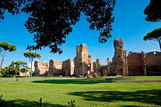 Visite privée des thermes de Caracalla à Rome
