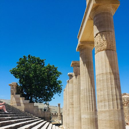 Akropelis van Lindos