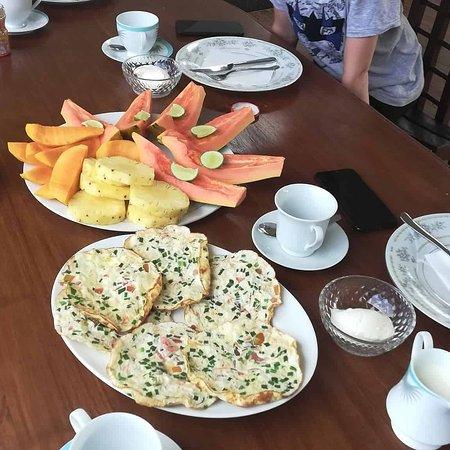 Наши завтраки в отеле.