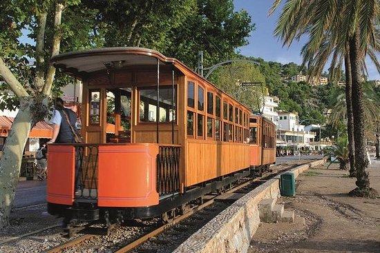 Visite d'une journée à Majorque en train, tram et bateau