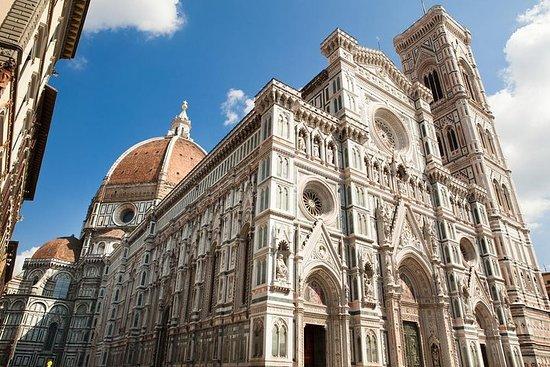 O complexo de Duomo e seus terraços...