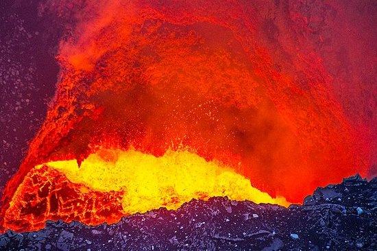 Visite de lave du volcan Masaya