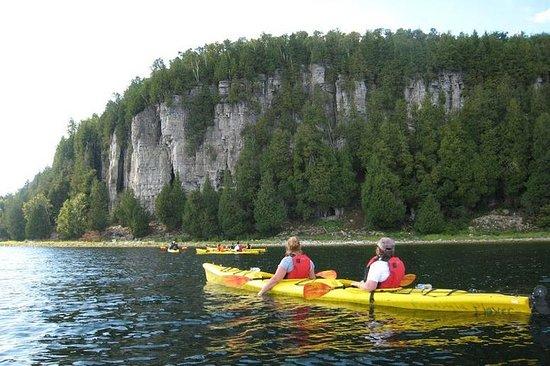 Tour di 1/2 giorni del Peninsula State Park Kayak