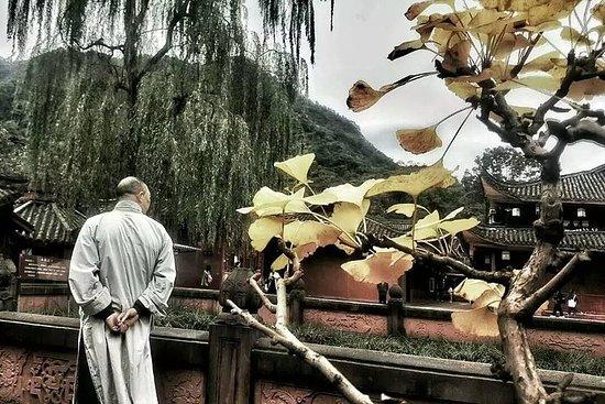 Séjour d'une nuit au temple au mont...