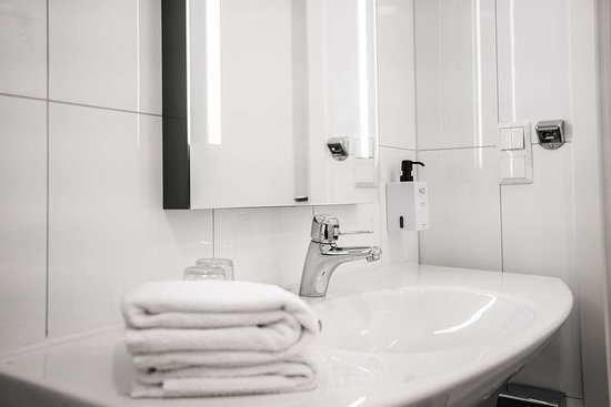 Fauske, Norwegia: Scandic Bathroom