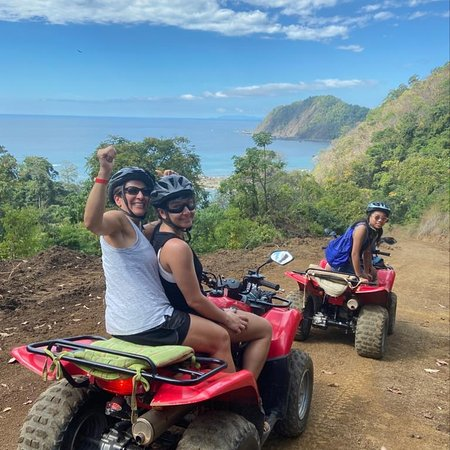 "The ""Scenic Beach and Jungle ATV Adventure"" . A unique ATV Adventure with an emphasis on nature, wildlife and stunning scenery.  An ATV tour for those that love nature and the natural beauty of Costa Rica."
