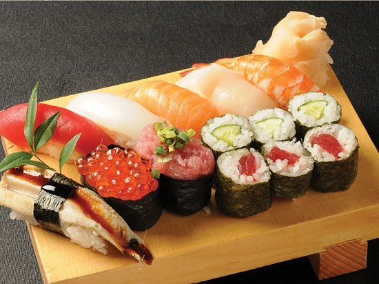 You can also eat sushi.