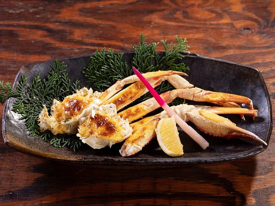 The recommended menu is the golden crab of snow crab.