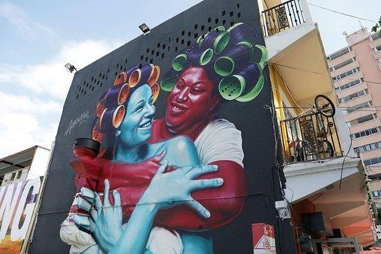 Arte Boriken-Tour de arte urbano puertorriqueño con sorbo y pintura