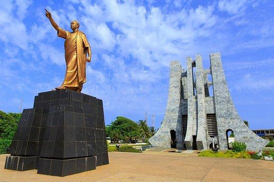 Opplev skjønnheten, historien og kulturen i Accra på en dag