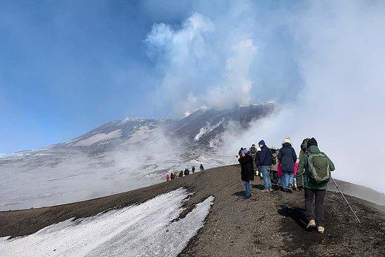 Experiencia en los cráteres del Etna...