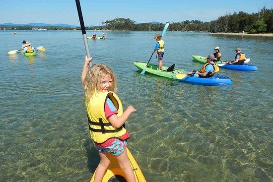 Batemans Bay Glass-Bottom Kayak Tour Over 2 Relaxing Hours