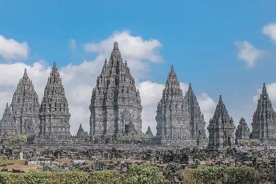 7 dager fantastiske Yogyakarta: Foss, Sykling, Templer, Rafting, Jeep...