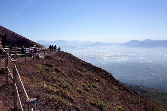 Pompeya sin colas y Monte Vesubio con...