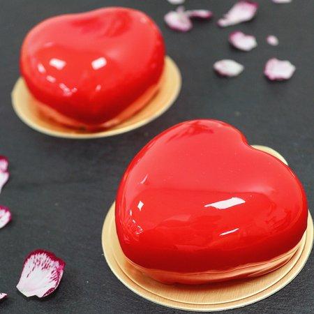 """""""Valentine"""" flavours, Vanilla, Raspberry"""