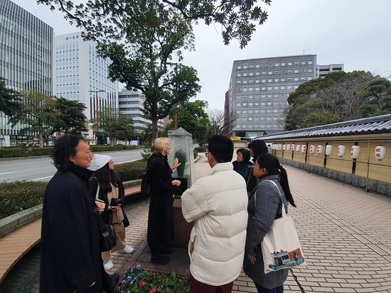 Mysterious Temples of Hakata Walking Tour: Outside Tochoji Temple