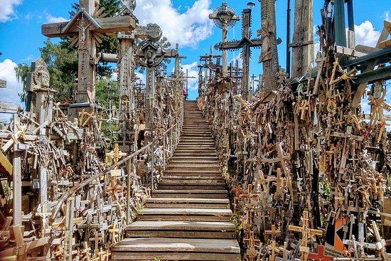 Guidet spasertur på Hill of Crosses fra Siauliai