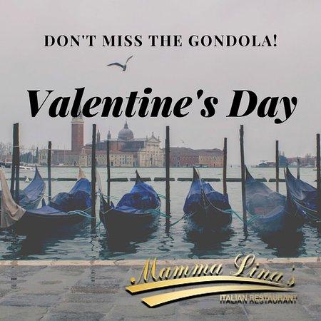 Rogerstone, UK: Valentine's Day in Mamma Linas