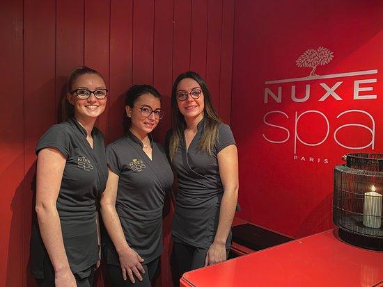 L'équipe du spa NUXE