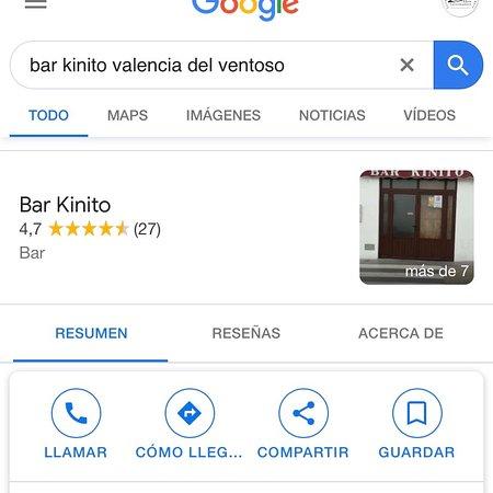 Valencia del Ventoso, Испания: Bar con comidas típicas de la zona