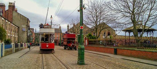 Tram and bus