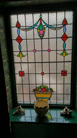 Delicate stained glass