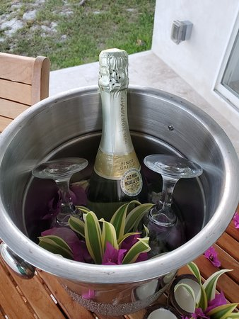 Our chilled sparkling wine