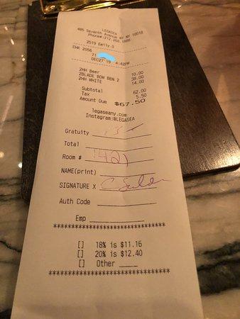 Ask before ordering $$$$$$