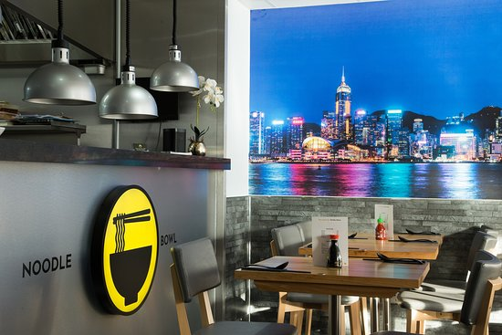 Relaxed, casual dining with clear views into our kitchen and Hong Kong Harbour.