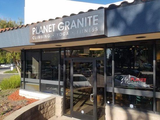 Santa Clara, CA: entrance to our facility