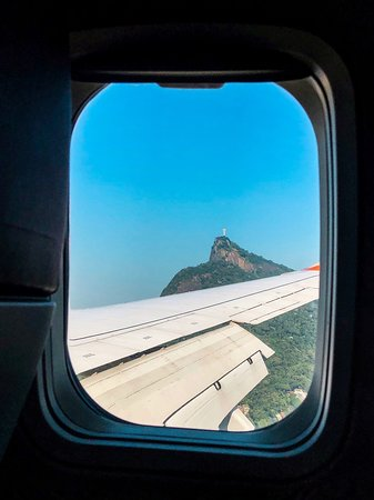 Rio de Janeiro, RJ: Vista da janela 🧡