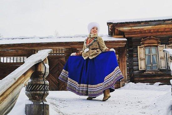 Der Baikalsee-Eistag in Lisvyanka