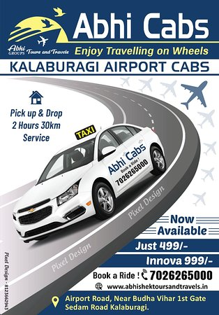 Kalaburagi District, India: Now easy to travel in City  cabs  Local & outstation taxi avilable  low  budget cabs Dzire, Etios Bolore xv500