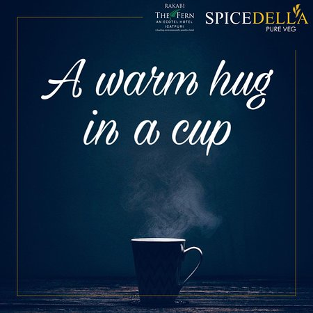 Winter is here! Brace yourself with a warm cup of tea.  Tag your friends with whom you would like to enjoy hot cup of tea at Spicedella - Pure Veg Restaurant #spicedella #rakabithefern #thefern #tea #chai #igatpuri #restaurant #hot #winterishere #winter #allseasons #addiction