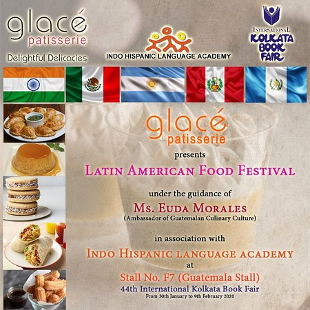 Enjoy the flavour of Latin America especially prepared by our chefs for the visitors of 44th International Kolkata Book Fair. Please do visit to stall number F7 (Guatemala) stall to enjoy the dishes of Latin America.